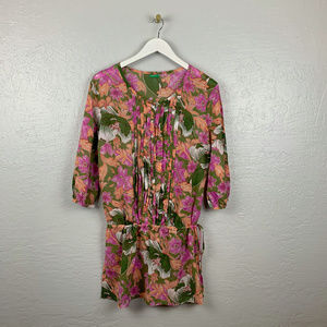 United Colors of Benetton Size M Floral Tunic